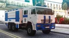 Пожарный КаМАЗ авиакомпании UTair