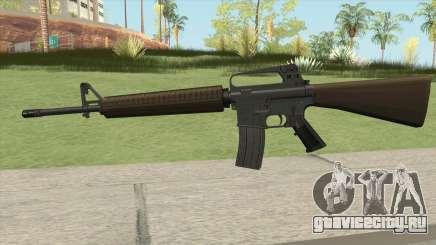 M16A2 Partial Desert Camo (Stock Mag) для GTA San Andreas