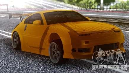 Nissan 350z Yellow для GTA San Andreas