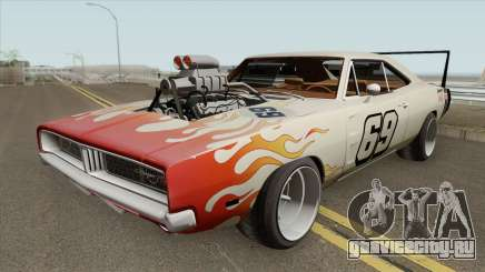 Dodge Charger 69 RT By Donz 1969 для GTA San Andreas