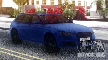 Audi RS6 PERFORMANCE 2018 для GTA San Andreas