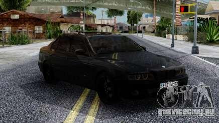 BMW M5 E39 Black для GTA San Andreas