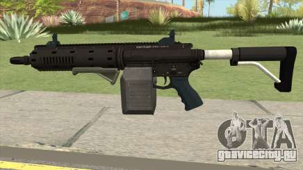 Carbine Rifle GTA V Box (Flashlight, Grip) для GTA San Andreas