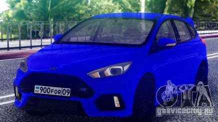Ford Focus RS 2017 Hatchback для GTA San Andreas
