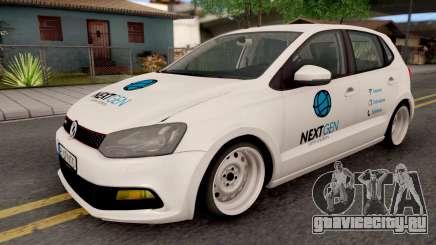 Volkswagen Polo GTI 2014 v2 для GTA San Andreas