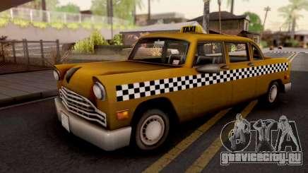 Cabbie GTA III Xbox для GTA San Andreas