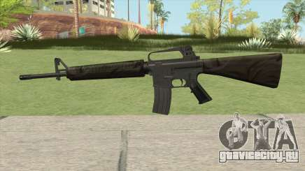 M16A2 Partial Jungle Camo (Stock Mag) для GTA San Andreas