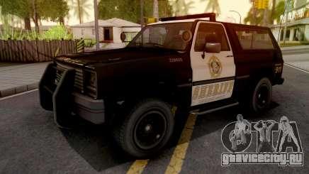 GTA IV Declasse Sheriff Rancher SA Style для GTA San Andreas