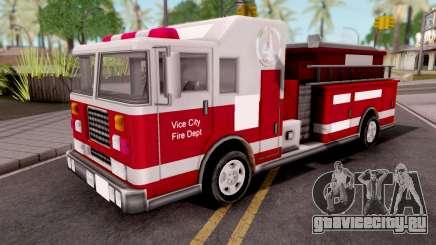 Firetruck GTA VC Xbox для GTA San Andreas