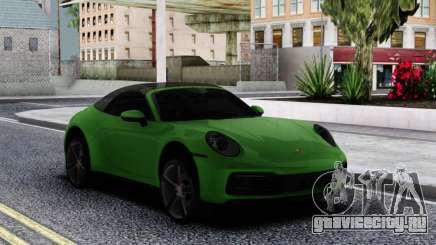 Porsche 911 Cabriolet Carrera 4S 2020 для GTA San Andreas