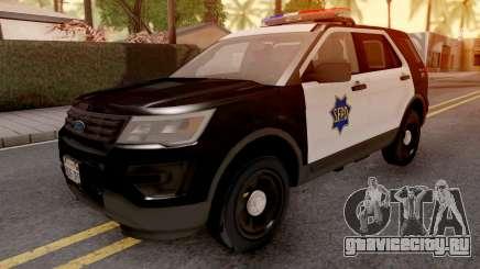 Ford Explorer 2016 SFPD для GTA San Andreas