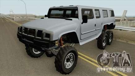 Mammoth Patriot 6x6 GTA V для GTA San Andreas