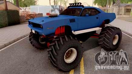 Plymouth Hemi Cuda Monster Truck 1971 для GTA San Andreas