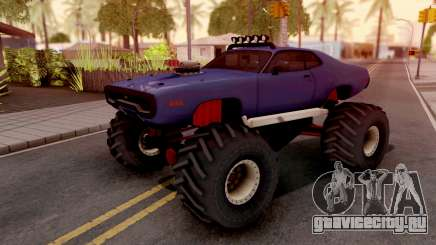 Plymouth GTX Monster Truck 1972 для GTA San Andreas