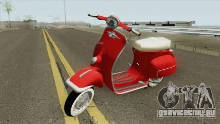 Vespa 150SS Red Style для GTA San Andreas