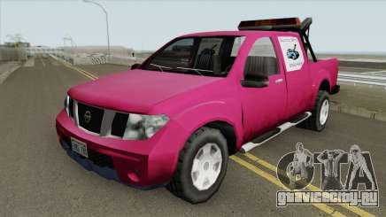 Nissan Frontier TowTruck (SA Style) для GTA San Andreas