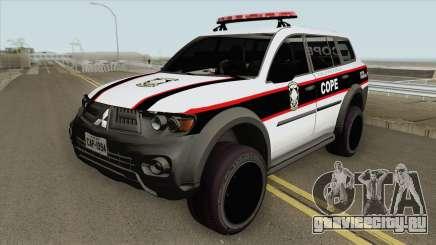 Mitsubishi Pajero Dakar 2013 (COPE) для GTA San Andreas