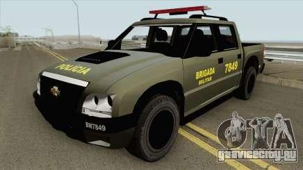 Chevrolet S10 (Brigada Militar) для GTA San Andreas
