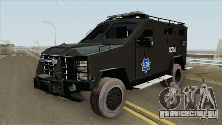 Lenco BearCat (SFPD Tactical Unit) для GTA San Andreas
