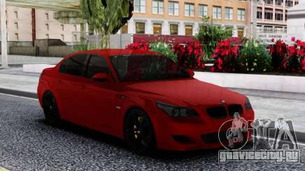 BMW M5 E60 Sedan Red для GTA San Andreas