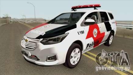 Chevrolet Spin 2019 PMSP для GTA San Andreas