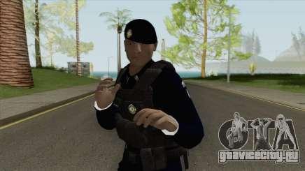Brazilian Police Skin V2 для GTA San Andreas