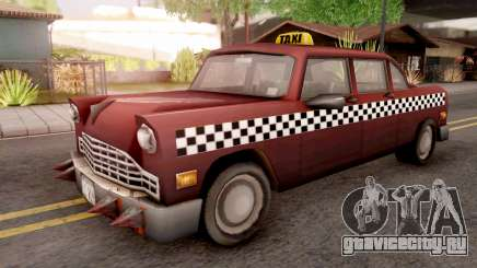 Borgine Cab from GTA 3 для GTA San Andreas