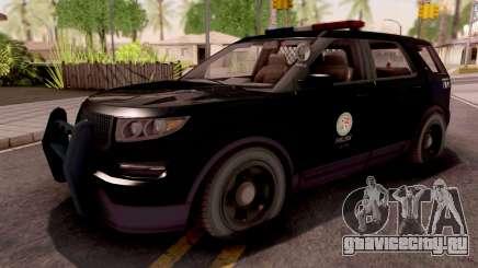 Vapid Scout Los Santos Police для GTA San Andreas
