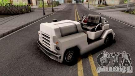 Baggage Handler GTA VC Xbox для GTA San Andreas