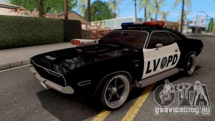 Dodge Challenger 1970 Police LVPD для GTA San Andreas