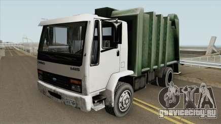 Ford Cargo 1415 Trash (SA Style) для GTA San Andreas