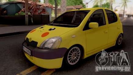 Toyota Yaris Pokemon для GTA San Andreas