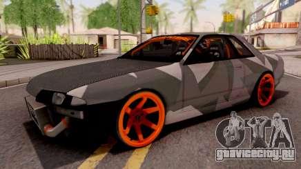 Nissan Skyline R32 Drift Camo v5 для GTA San Andreas