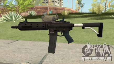 Carbine Rifle GTA V Tactical (Extended Clip) для GTA San Andreas
