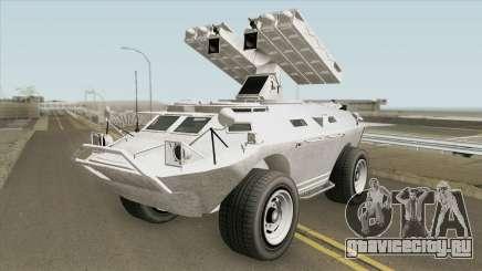 HVY APC Missile Lancher Amphibius GTA V для GTA San Andreas