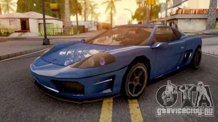 Turismo GTA IV для GTA San Andreas
