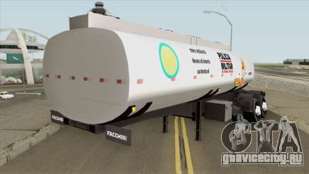 Tank Trailer V1 (Policia Militar) для GTA San Andreas