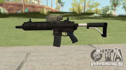 Carbine Rifle GTA V Tactical (Default Clip) для GTA San Andreas