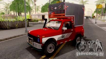 Lada Niva Pick-Up для GTA San Andreas