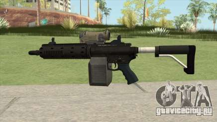 Carbine Rifle GTA V Tactical (Box Clip) для GTA San Andreas