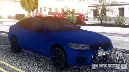 BMW M5 F90 2019 Competition для GTA San Andreas
