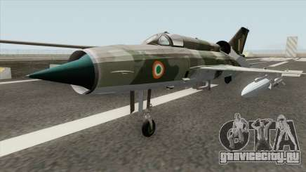 New MiG-21 для GTA San Andreas