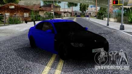 BMW M3 E92 Black & Blue для GTA San Andreas