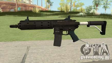 Carbine Rifle GTA V Flashlight (Default Clip) для GTA San Andreas