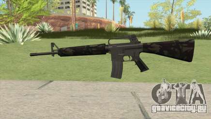 M16A2 Partial Forest Camo (Stock Mag) для GTA San Andreas