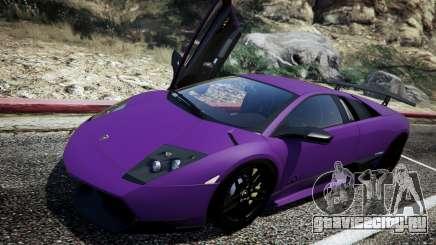 Lamborghini Murcielago LP670-4 SuperVeloce для GTA 5