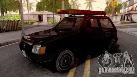 Fiat Uno Mille Fire v2 для GTA San Andreas