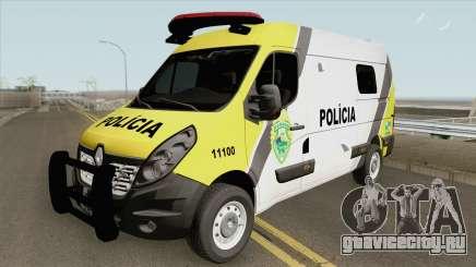 Renault Master 2017 (Policia Militar Do Parana) для GTA San Andreas