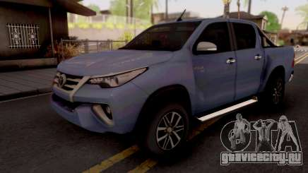 Toyota Hilux Front Fortuner 2018 для GTA San Andreas