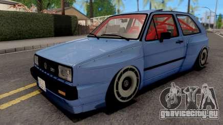 Volkswagen Golf Mk2 GTI 1984 Rocket Bunny для GTA San Andreas